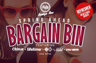Refresh: Spring Ahead Bargain Bin