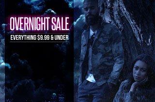 Overnight:$9.99 and Under