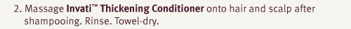 invatio thickening conditioner