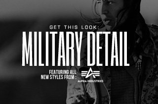 Get This Look: Military Detail