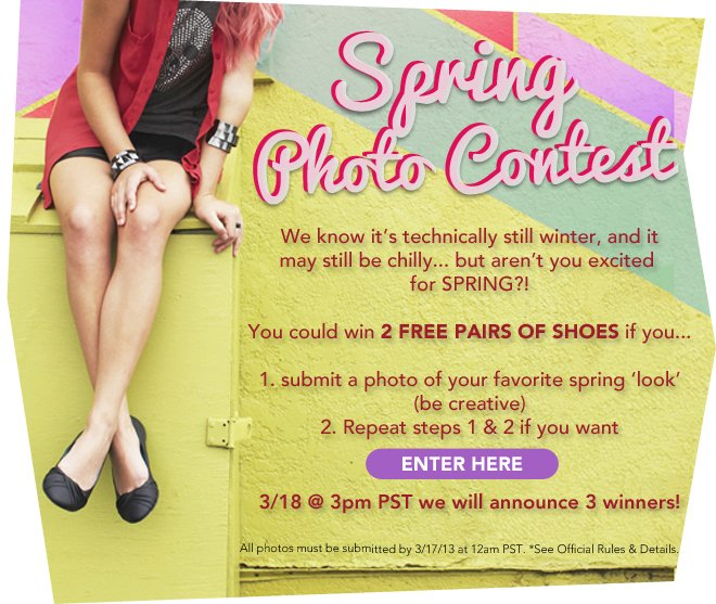 Win Free Shoes!