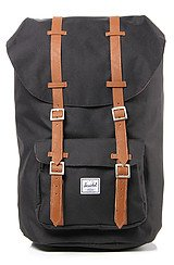 The Little America Backpack in Black