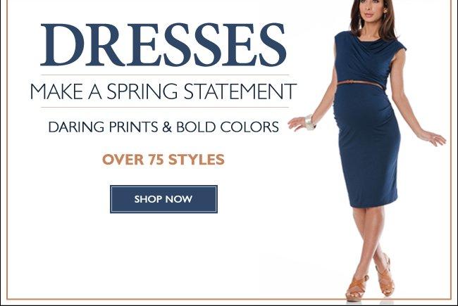 DRESSES: Make A Spring Statement