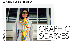 GRAPHIC SCARVES width=