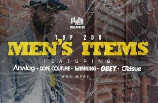 Top 200 Men's Items