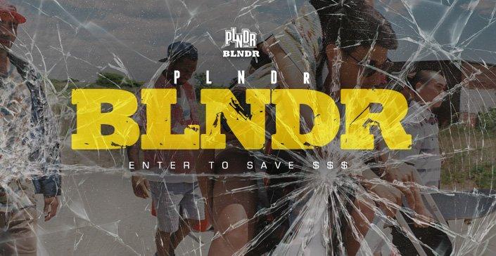 PLNDR BLNDR Sale