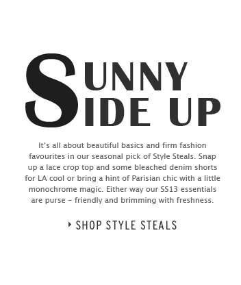Sunny Side Up - Shop Style Steals
