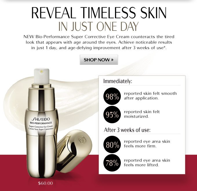 Reveal timeless skin in just one day
