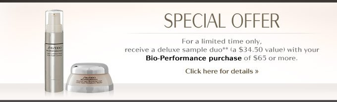 Bio-Performance Special Offer