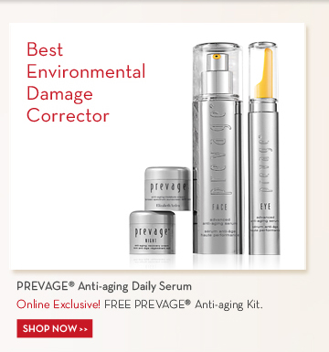 Best Environmental Damage Corrector. PREVAGE® Anti-aging Daily Serum. Online Exclusive! FREE PREVAGE® Anti-aging Kit. SHOP NOW.
