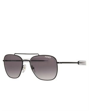 Fendi 5217L-001 Women's Rectangular Sunglasses Made In Italy