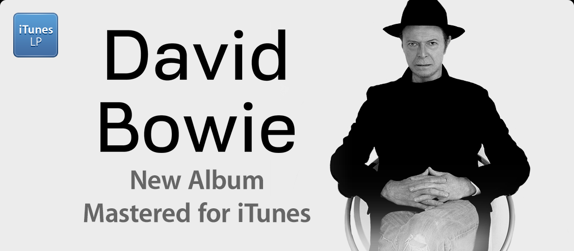 David Bowie - (LP) New Album MFiT