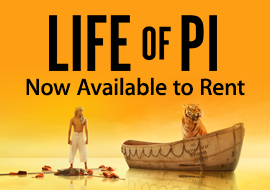 Life of Pi - Now Available to Rent