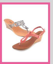 Spring Essential: Sandals! SHOP NOW