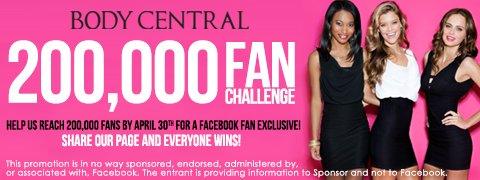 Facebook Fan Challenge