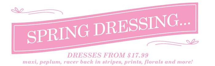 DrJays.com Shop Dresses.