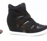twinkle wedge sneaker