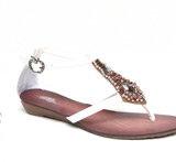 bead trim sandal