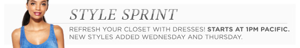 Style Sprint starts today at 1PM Pacific