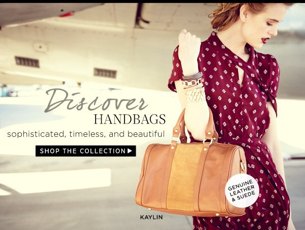 Discover Handbags - Sophisticated, Timeless, and Beautiful. Shop the Collection.