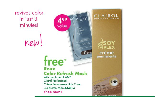 free* Roux Color Refresh Mask
