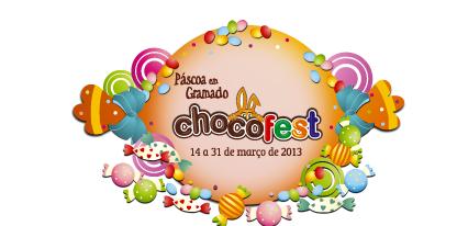 Chocofest - de 14 a 31 de março de 2013