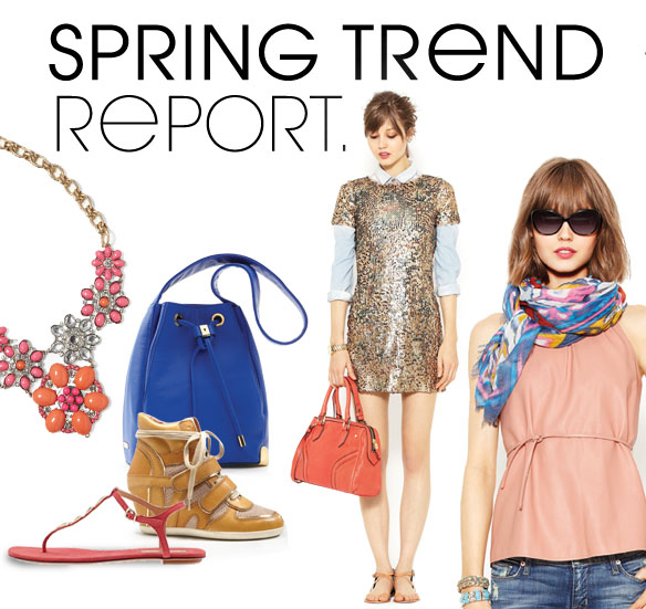 SPRING TREND REPORT.