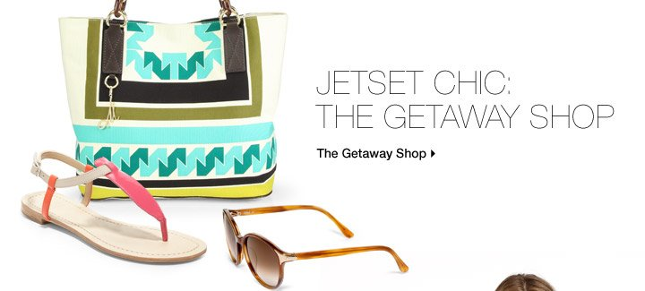 Jetset Chic: The Getaway Shop