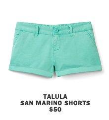 Talula San Marino shorts