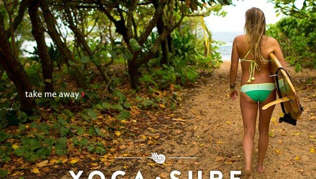 yoga & surf: take me there