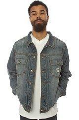 The Califas Denim Jacket in Indigo Vintage Wash