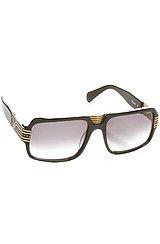 The Pharoah Sunglasses in Black