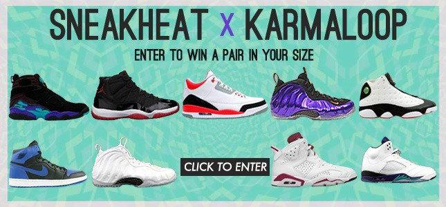 Win a Pair of Exclusive Kicks from SneakHeat and Karmaloop