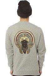 The Pharoah Crewneck Sweatshirt in Heather Grey