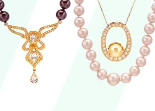 Pearl Necklaces & Bracelets
