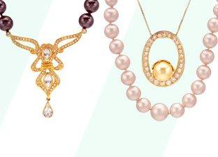 Pearl Necklaces & Bracelets