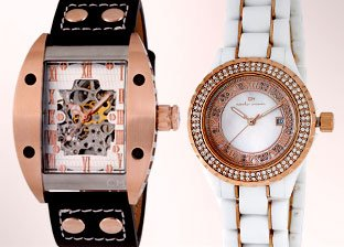 Carlo Monti watches for Him & Her