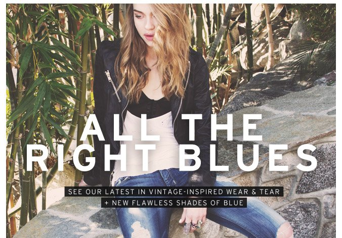 Trend We Love: Flawless New Shades of Blue + Vintage-Inspired Denim