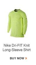 Nike Dri-FIT Knit Long-Sleeve Shirt | BUY NOW