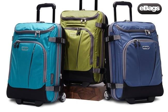 Duffels that stand up straight.