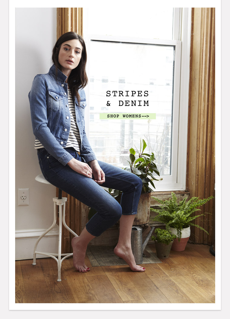 Shop Stripes & Denim