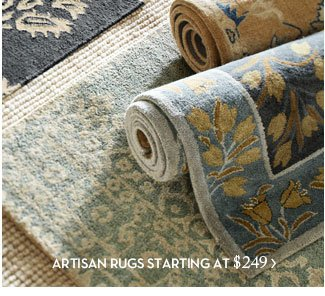 ARTISAN RUGS STARTING AT $249