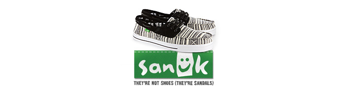 Sanku They're not shoes (They're sandals)