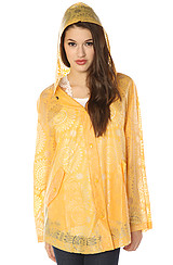 The Utility Raincoat in Sunshine