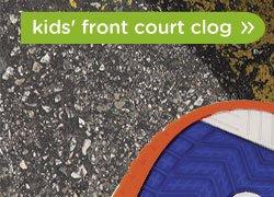 kids' front court clog