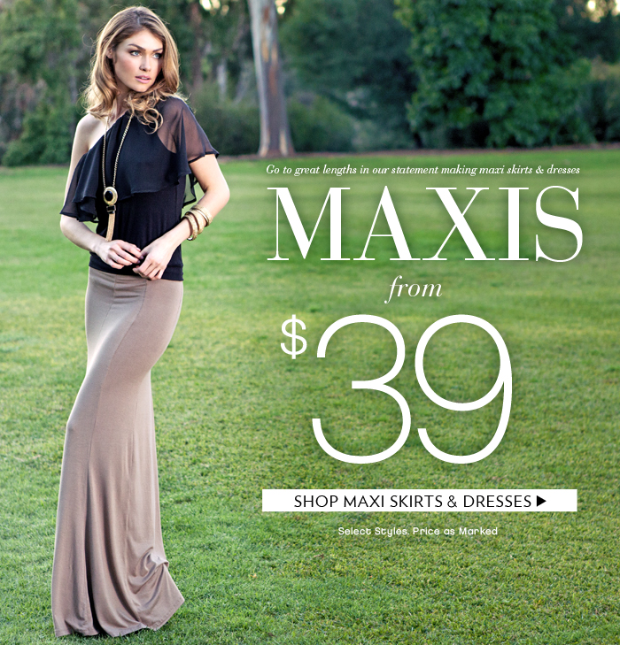 Shop Maxis From $39!