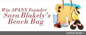 Win SPANX Founder Sara Blakely's Beach Bag! Enter Now.