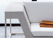 The Stylishly Lived-In Home Casual Patio Pieces