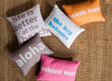 The Stylishly Lived-In Home Quotable Pillows