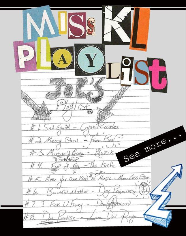 Miss KL Playlist